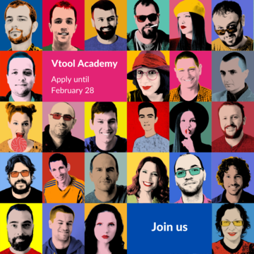 Open Call for Vtool Academy 2021 Generation